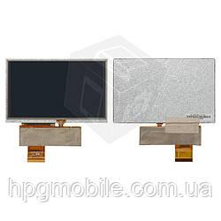 """Дисплей с сенсорным экраном для автонавигаторов GPS 5.0"""" HD, 40 pin, 800*480, оригинал"""
