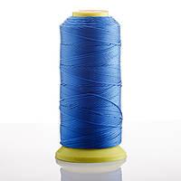 Нитка ярко Синий d-0.6 мм капроновая для рукоделия 500 м