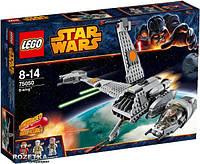 Конструктор Lego Star Wars 75050 Истребитель В-wing.
