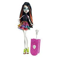 Кукла Monster High Travel Scaris Skelita Calaveras Doll, Скелита Калаверас из серии Скариж