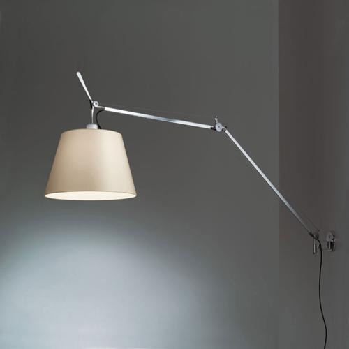 Artemide Tolomeo Mega parete LED, Dimmable - Aluminium 0762010A / Black 0762030A