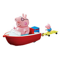Игровой набор Peppa Pig Holiday Time Splash Speed Boat,