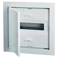 Распределительный щит на 12-14 модуля внутренней установки с металлической дверцей АВВ UK 510E