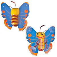 Термометр оконный TP124, бабочка     .dr