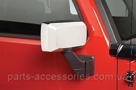 Hummer H3 2006-10 хромовые накладки на зеркала Новые