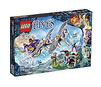 Конструктор LEGO Elves 41077 Aira's Pegasus Sleigh Building Kit, Летающие сани Эйры.