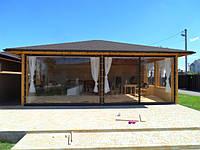 Скидка на ПВХ прозрачные шторы до 20%