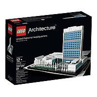 Конструктор Лего 21018 LEGO Architecture United Nations Headquarters Штаб-квартира ООН