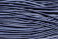 Резинка круглая, шляпная 3мм (50м) т.синий, фото 1