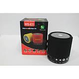 Портативная колонка Wster WS-631 Bluetooth, фото 4