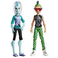 Набор кукол Монстер Хай Monster High Дьюс Горгон и Гил  Веббер Gil Webber and Deuce Gorgon