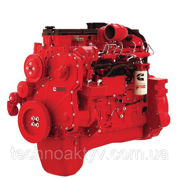 Двигатель     Cummins QSC (QSC, QSC*), QSL (QSL, QSL*), QSM (QSM, QSM*), QSX (QSX, QSX*)