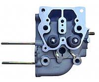 Головка блока цилиндра в сборе ZUBR (3 болта) для двигателя мотоблока 186F