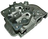 Головка блока цилиндра голая ZUBR (3 болта) для двигателя мотоблока 186F