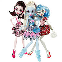 Набор из 3 кукол Monster High - Смертельно Прекрасный горошек
