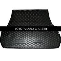 Коврик в багажник Avto Gumm для Toyota Land Cruiser 200 2007- (5-мест)