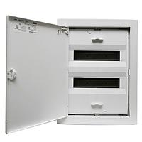 Распределительный щит на 24-28 модуля внутренней установки с металлической дверцей АВВ UK 520E