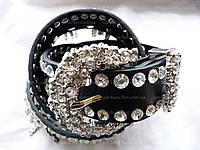 Женский ремень с камнями (35 см) — купить оптом в одессе 7км