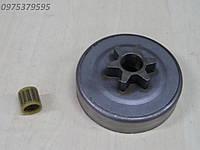 Звездочка для Oleo-Mac GS 410 С, GS 370 (на 6 лучей, шаг 3/8) ОРИГИНАЛ