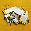 Аккумулятор, батарея для планшета 460 mAh, 3,7 V, 25x43x43 мм