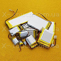 Аккумулятор, батарея для планшета 200 mAh, 3,7 V, 30x30х30 мм