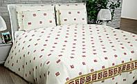 Двухспальный набор постельный (рисунок Белое)