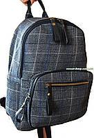 Сумка портфель в клетку шотландка. Женский рюкзак стильный супер качество! СР301