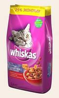 Whiskas Сухой корм для кошек вкусные подушечки с тунцом 14кг
