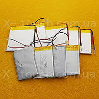 Аккумулятор, батарея для планшета 3,7 V, 37x44х138 мм