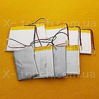 Аккумулятор, батарея для планшета 530 mAh, 3,7 V, 30x34x50 мм