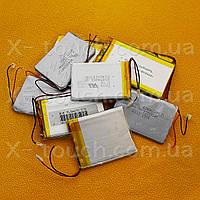 Аккумулятор, батарея для планшета 1100 mAh, 3,7 V, 38x35x62 мм