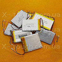Аккумулятор, батарея для планшета 1050 mAh, 3,7 V, 37x50x54 мм
