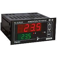 Багатофункціональний одноканальний вимірювач-регулятор ваги теператури тиску з RS-485 ОВЕН ТРМ201-Щ2.Р