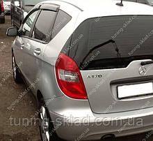 Ветровики окон Мерседес А-класс W169 (дефлекторы боковых окон Mercedes A-Klasse W169)