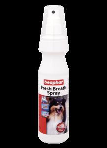 Beaphar Спрей Fresh Breath Spray для чистки зубов и освежения дыхания у собак 150мл (13222)