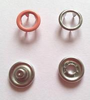 Кнопка 9,5 мм матовая № 10 - персик