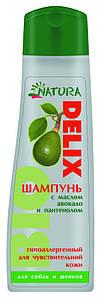 Natura  Delix Bio-шампунь гипоаллергенный на натуральной основе для собак и щенков 250мл