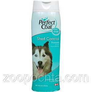 8in1 Shed Control Shampoo (680216) - Шампунь Контроль линьки  947 мл для собак