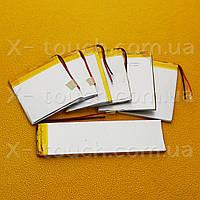 Аккумулятор, батарея для планшета 2400 mAh, 3,7 V, 44x52x115 мм