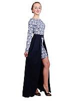 Стильное платье-трансформер  для девочки М-1082, фото 1