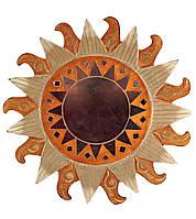 Зеркало настенное мозаичное Солнце