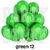 Воздушные шарики Gemar G90 пастель зеленый 10' (26 см) 100 шт