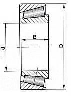 Подшипник 7703 (LM11749/LM11710)