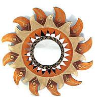 Зеркало в комнату настенное Солнце