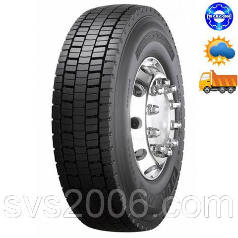 Шина  205/75R17,5 Dunlop SP444 (ведущая ось)124/122M