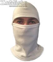 Балаклава (флис, белая) шапка-маска