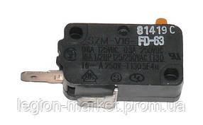 Микро-переключатель два контакта 3405-001034 для микроволновой печи Samsung