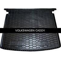 Коврик в багажник Avto Gumm для Volkswagen Caddy Life 2004-