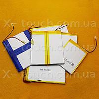 Аккумулятор, батарея для планшета 3,7 V, 35x65х126 мм