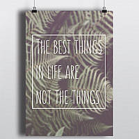 Постер The best things